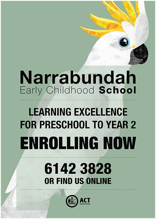 This is an image of the enrolment flyer