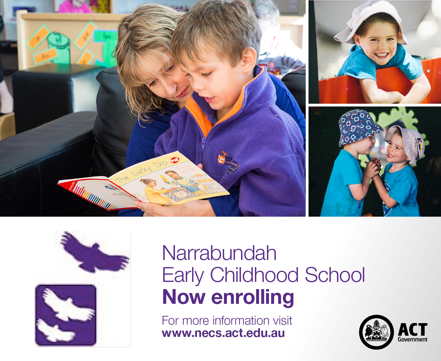 Now enrolling for 2018